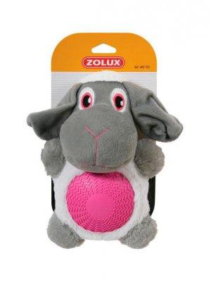 Zolux Owieczka z gumowym brzuszkiem - 21,5 cm
