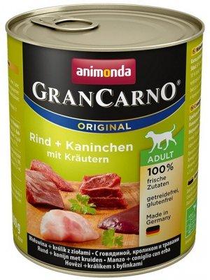 Animonda GranCarno Adult Królik w Ziołach 800 g