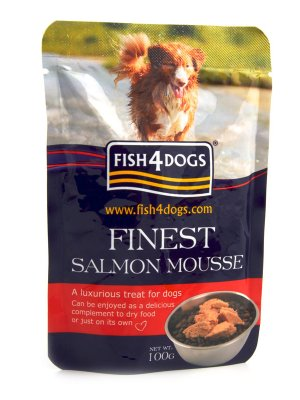 Fish4Dogs Finest Trout Mousse4Dogs - Mus z Łososia 100 g