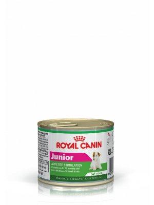 ROYAL CANIN Junior 195g karma mokra w formie musu dla szczeniąt ras małych
