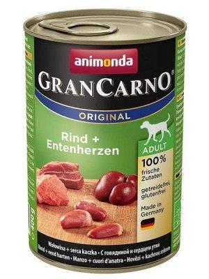 Animonda GranCarno Adult Wołowina i Kaczka 400 g