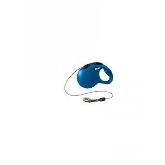 Flexi NEW CLASSIC Smycz z linką XS - Niebieska