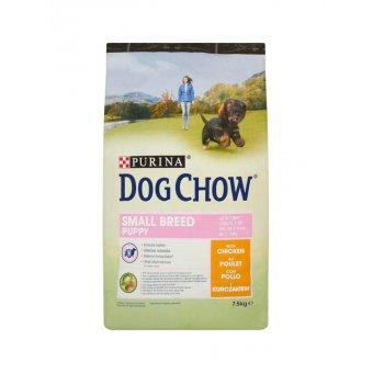 Purina Dog Chow Small Breed Puppy Kurczak 7,5kg