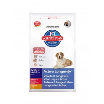 Hill's Science Plan Mature 7+ Active Longevity Kurczak 3kg
