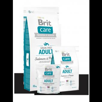 Brit Care Adult - bez zbóż - Łosoś i Ziemniaki 3 kg