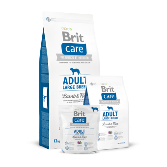 Brit Care Adult Large Breed Jagnięcina z Ryżem 1 kg