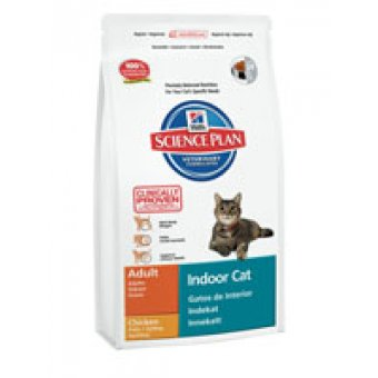 HILL'S SCIENCE PLAN ADULT INDOOR FELINE KURCZAK 4kg
