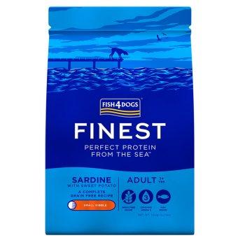 Fish4Dogs Finest Sardine (Mała Rasa) 12kg (6kg + 6kg)