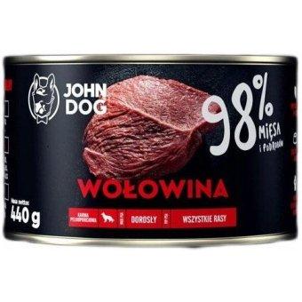 John Dog Karma Mokra Premium Wołowina 98% 410g