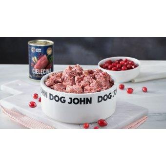 John Dog Karma Mokra Berry Line Cielęcina z Żurawiną 400g