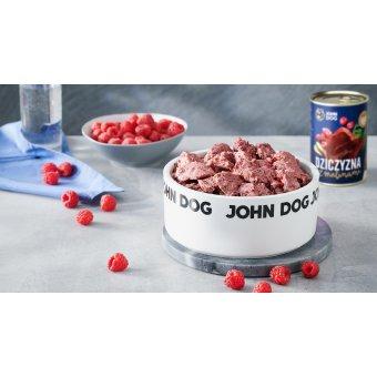 John Dog Karma Mokra Berry Line Dziczyzna z Malinami 800g