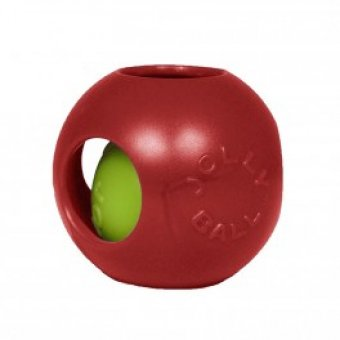 JOLLY PETS Piłka w Piłce Czerwona 11 cm