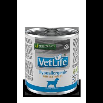 Farmina Vet Life hypoallergenic fish & potato puszka 300g