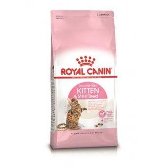 ROYAL CANIN SECOND AGE KITTEN STERILISED 4 kg