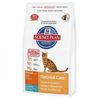 HILL'S SCIENCE PLAN OPTIMAL CARE ADULT TUŃCZYK 10kg
