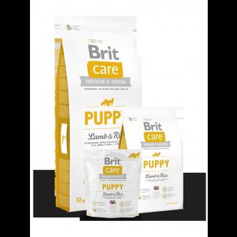 Brit Care Puppy All Breed Jagnięcina z Ryżem 1 kg