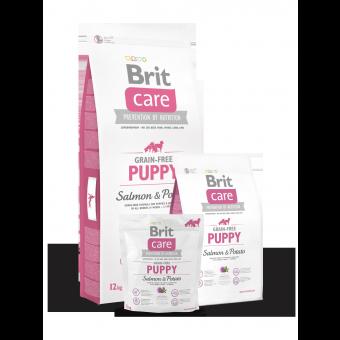 Brit Care Puppy Łosoś i Ziemniaki 12 kg - Bez zbóż