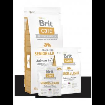 Brit Care Senior & Light Łosoś i Ziemniaki 12 kg - Bez zbóż