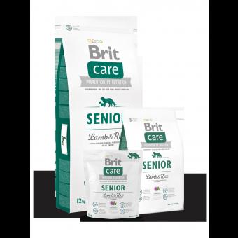 Brit Care Senior Jagnięcina z Ryżem 3 kg