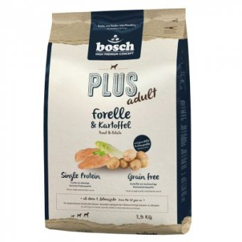 Bosch HPC+ Pstrąg i Ziemniak 2,5 kg