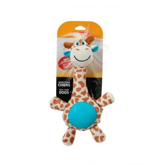 Zolux Żyrafa z gumowym brzuszkiem - 33 cm