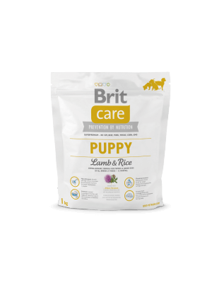 Brit Care Puppy All Breed Jagnięcina z Ryżem 1 kg