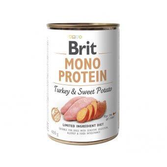 Brit Mono Protein Indyk i Słodki Ziemniak (Default)