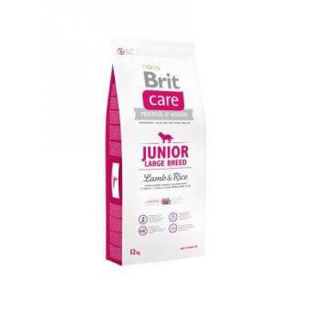 Brit Care Junior Large Breed Jagnięcina z Ryżem 12 kg