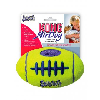 "KONG AirDog Squeaker Football ""L"" - 16 cm"