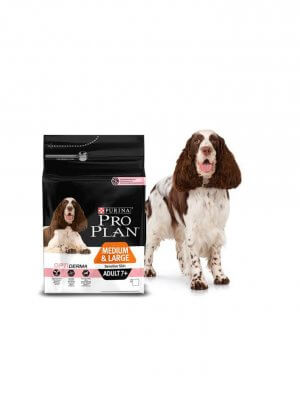 Purina Pro Plan Medium & Large Adult 7+ Sensitive Skin Łosoś 3kg
