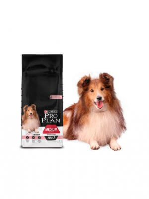 Purina Pro Plan Medium Adult Sensitive Skin Łosoś 14 kg