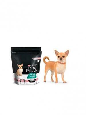 Purina Pro Plan Small & Mini Adult Sensitive Skin Łosoś 700g