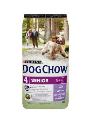 Purina Dog Chow Senior Jagnięcina 14kg