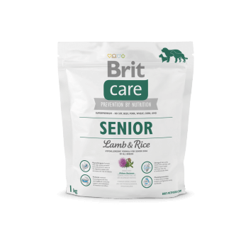 Brit Care Senior Jagnięcina z Ryżem 1 kg