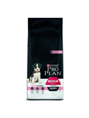Purina Pro Plan Puppy Sensitive Skin Łosoś & Ryż 14kg
