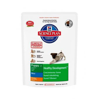 Hill's Science Plan Puppy Healthy Development Mini Kurczak 1kg