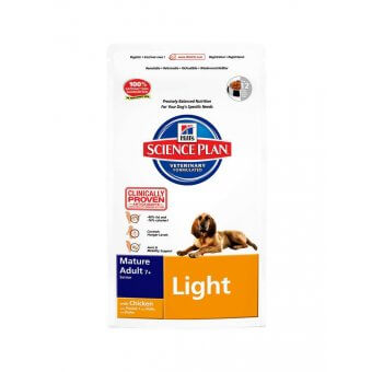Hill's Science Plan Mature 7+ Active Longevity Light Kurczak 12kg