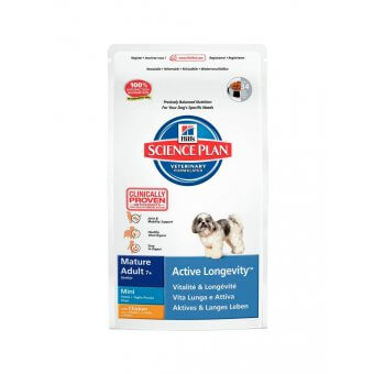 Hill's Science Plan Mature 7+ Active Longevity Mini Kurczak 7,5kg