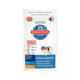 Hill's Science Plan Mature 7+ Active Longevity Mini Kurczak 3kg