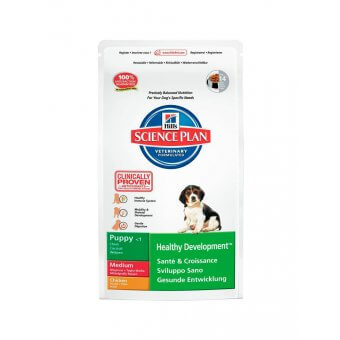 Hill's Science Plan Puppy Healthy Development Medium Kurczak 3kg