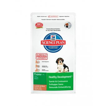 Hill's Science Plan Puppy Healthy Development Jagnięcina i Ryż 3kg
