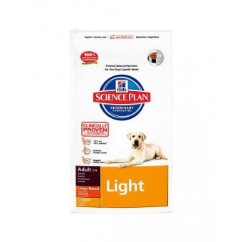 Hill's Science Plan Adult Light Large Kurczak 12kg