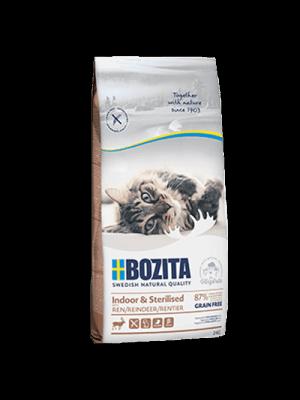 Bozita Cat Indoor&Sterilised z Reniferem 2kg