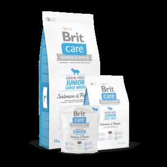 Brit Care Junior Large Breed Łosoś i Ziemniaki 1 kg - Bez zbóż