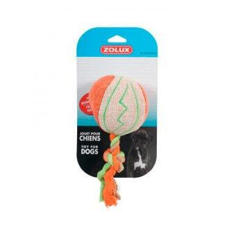 Zolux Piłka ze sznurkiem - Pomarańczowa
