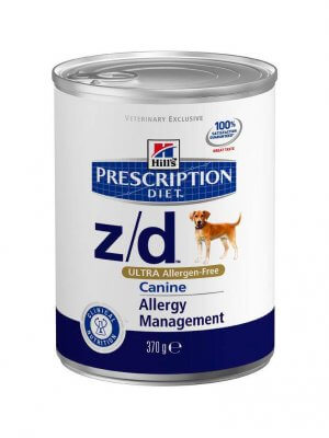 Hill's Prescription Diet Z/D Ultra Allergen Free 370g