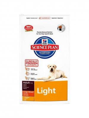 Hill's Science Plan Adult Light Large Kurczak 12kg