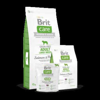 Brit Care Adult Large Breed Łosoś i Ziemniaki 3 kg - Bez zbóż