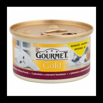 PURINA GOURMET GOLD SAVOURY CAKE JAGNIĘCINA Z ZIELONĄ FASOLĄ 85g