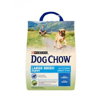 Purina Dog Chow Puppy Large Breed Indyk 2,5kg